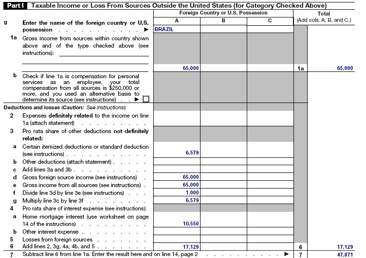 Foreign Tax Credit Computation Worksheet Free Worksheets Library – 2014 Tax Computation Worksheet
