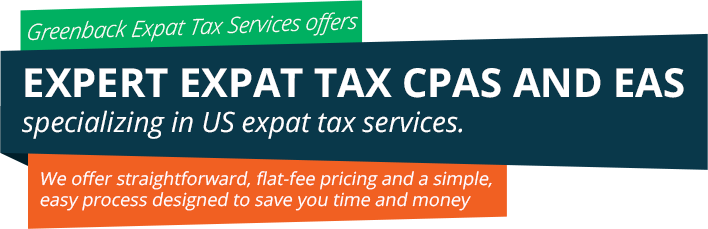 About Greenback Expat Tax Services